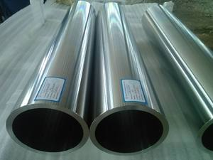 Bright steel tube